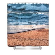 Wave After Wave Shower Curtain
