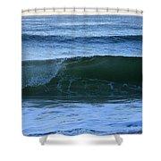 Wave Art 7 Shower Curtain