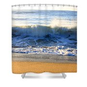 Wave Art Series 3 Shower Curtain