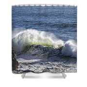 Wave Color Shower Curtain