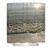 Wave On The Beach Shower Curtain
