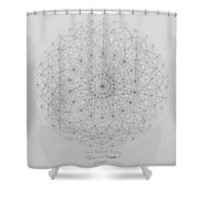 Wave Particle Duality Original Shower Curtain