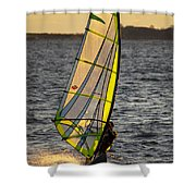 Wave Runner Shower Curtain