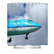 Wave To The Captain Shower Curtain