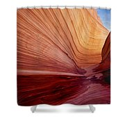 Wave Utah Shower Curtain