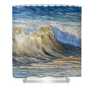 Wave2 Shower Curtain