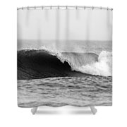 Waves Along The Shore Shower Curtain