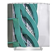 Waves At The Waverly Shower Curtain
