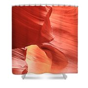 Waves Faces And Light Shower Curtain