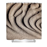 Waves Of A Desert - Mesquite Sand Dunes Shower Curtain