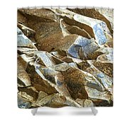 Waves Of Rock Shower Curtain