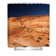 Waves Of Sandstone Shower Curtain