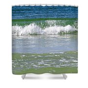 Waves Of The Gulf Of Mexico Shower Curtain