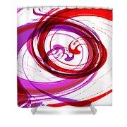 Circling Grace 3 Shower Curtain