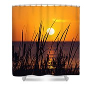 Waving Goodby Shower Curtain