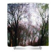 Wavy Willows Shower Curtain