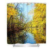 Waxen Autumn 1  Shower Curtain