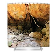 Way In The Cave Shower Curtain