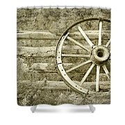 Way Out West Shower Curtain