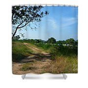 Way To The Beach Shower Curtain