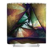 Way Towards The Unknown Shower Curtain