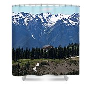 Way Up High - Hurricane Ridge - Washington Shower Curtain