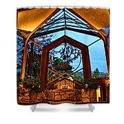 wayfarers Chapel 8 Shower Curtain