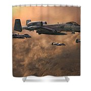 Waypoint Alpha Shower Curtain