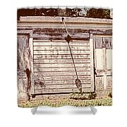 Wayside Shower Shower Curtain