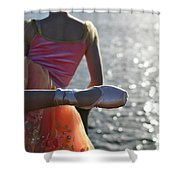 We Are Such Stuff As Dreams Are Made On Shower Curtain