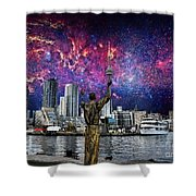 We Are The Stuff Of The Universe Shower Curtain