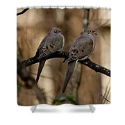 We Came Together - We're Leaving Together Shower Curtain