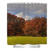 We Will Be Back Shower Curtain
