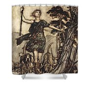 We Will, Fair Queen Shower Curtain