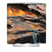 Weano Gorge - Karijini Np 2am-111671 Shower Curtain