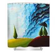 Weather Change Shower Curtain