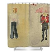Weather Forecast Shower Curtain