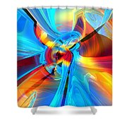 Weather Or Knot H 4  Shower Curtain