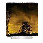 Weather Warning Shower Curtain