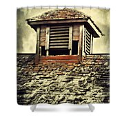 Weathered Cupola Shower Curtain