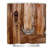 Weathered Entrance Shower Curtain