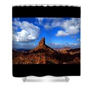 Weaver's Needle Shower Curtain