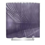 Web Abstract Shower Curtain