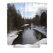 Webster Bridge Shower Curtain