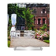 Wedding Arrangement In De Haar Castle. Utrecht  Shower Curtain by Jenny Rainbow