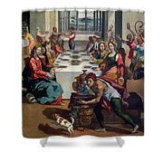 Wedding At Cana Shower Curtain