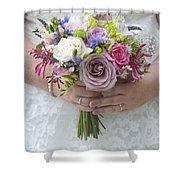 Wedding Bouquet Shower Curtain