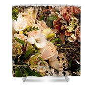 Wedding Bouquets 01 Shower Curtain