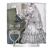 Wedding Dress Shower Curtain