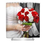 Wedding Shower Curtain by Elena Elisseeva